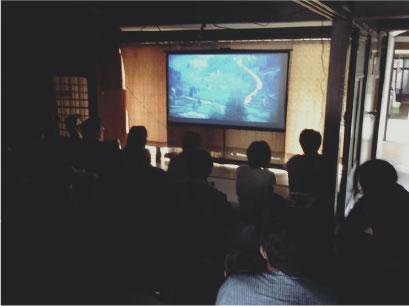 歩いていける映画館をコンセプトに「幻想キネマプロジェクト」 という上映会を主宰