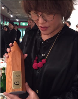 2016年、北陸コピーライターズクラブのHCC賞を受賞