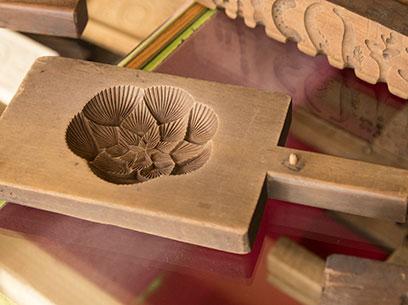 明治、大正期の和菓子用木型